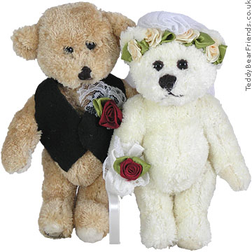 Bukowski Little Wedding Bears