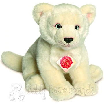 Teddy Hermann Little White Lioness