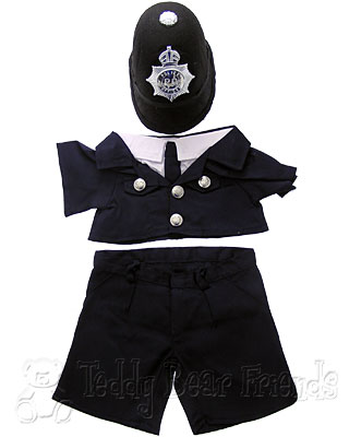 Teddy Bear Clothes Shop London Policeman Outfit For Teddy Bear