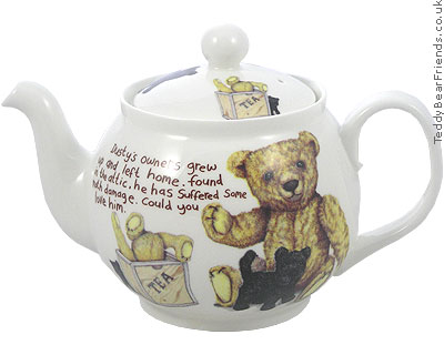 Roy Kirkham Lost Bears Big Teapot