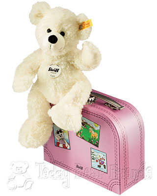 Steiff Lotte Teddy Bear in Suitcase