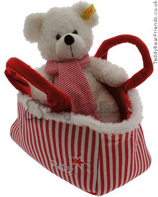 Steiff Lotte Teddy Bear with Hand Bag