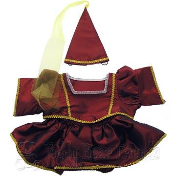 Teddy Bear Clothes Shop Medieval Princess Outfit For Teddy Bears