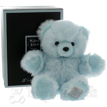 Histoire d'Ours Medium Gift Boxed Blue Teddy Bear