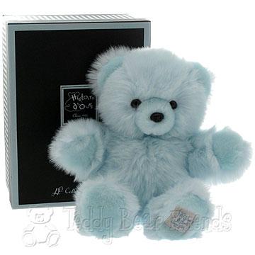 Histoire d'Ours Medium Gift Boxed Blue Teddy Bear