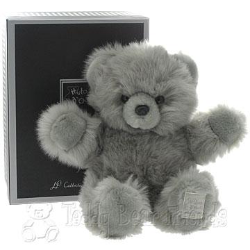 Histoire d'Ours Medium Gift Boxed Grey Teddy Bear