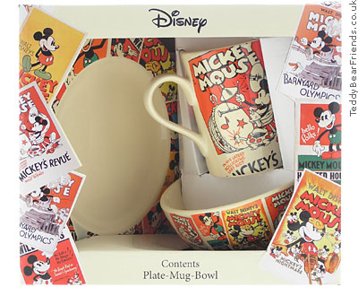 Churchill Mickey Mouse Breakfast Set