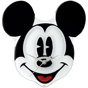 Disney Enchanting Collection Mickey Mouse Clock