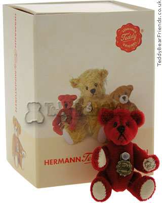 Teddy Hermann Micro Valentines Bear