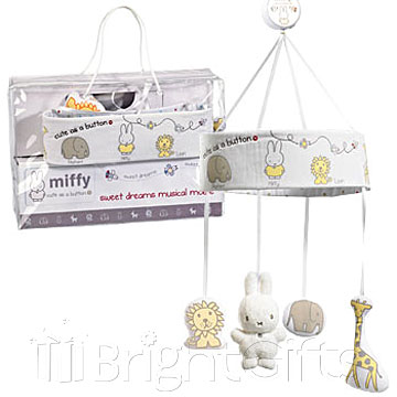 Rainbow Designs Miffy Musical Mobile