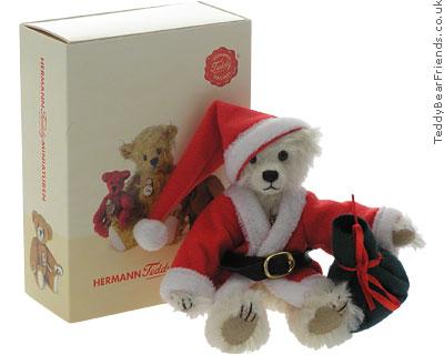 Teddy Hermann Miniature Christmas Bear