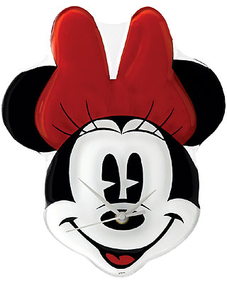Disney Enchanting Collection Minnie Mouse Clock