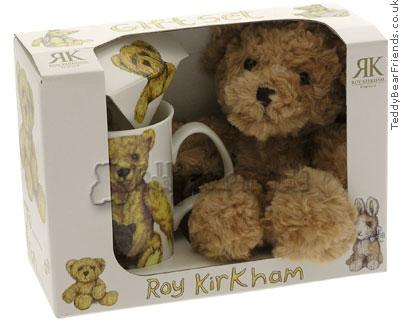 Roy Kirkham Mug and Teddy Bear Gift Set