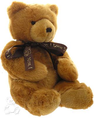 Teddy Bear Friends Exclusive Mum I Love You Teddy Bear
