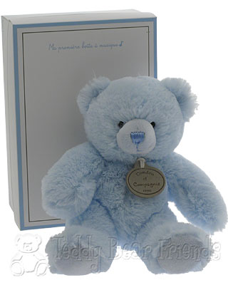 Doudou et Compagnie Musical Blue Teddy Bear