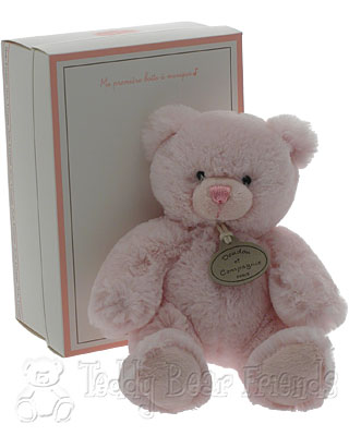 Doudou et Compagnie Musical Pink Teddy Bear