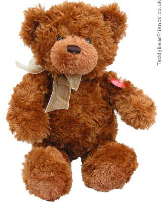 Gund Pudding musical teddy bear