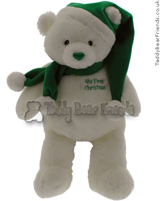 Gund My 1st Christmas Bear