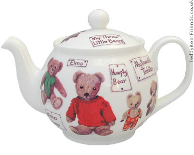Roy Kirkham My Favourite Teddy Bear Teapot