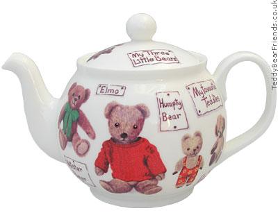 Roy Kirkham My Favourite Teddy Bear Teapot
