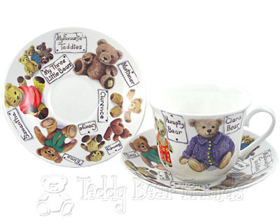 Roy Kirkham My Favourite Teddy Cup and Saucer