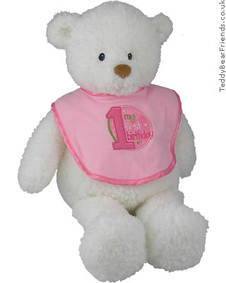 My First Birthday Girl Baby Gund 058776