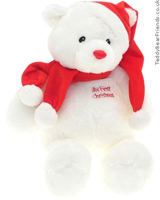 Gund My First Christmas Bear