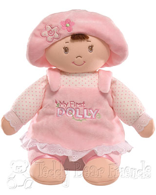 Baby Gund My 1st Dolly Brunette
