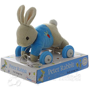 Rainbow Designs New Peter Rabbit Pull Along