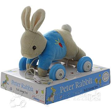 Rainbow Designs New Peter Rabbit Pull Along