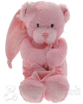 Baby Gund Nighty Night Pink Musical Bear