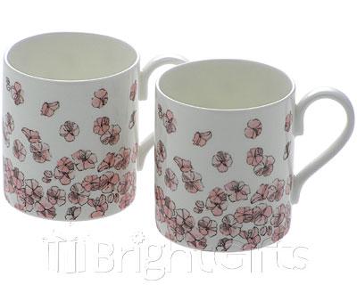 Roy Kirkham Nina Campbell Bowhill Coffee Mugs