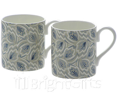 Roy Kirkham Nina Campbell Leaves Coffee Mugs