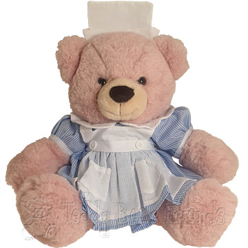 Teddy Bear Friends Exclusive Nurse Teddy Bear Gift