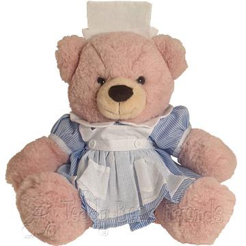 Teddy Bear Friends Exclusive Nurse Teddy Bear Gift