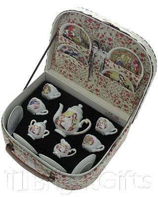 Reutter Porcelain Nursery Tales Miniature Teaset in Case