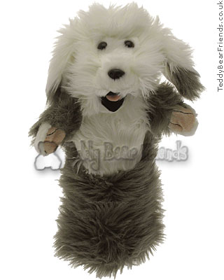 Old English Sheepdog Puppet The Puppet Company PC006045