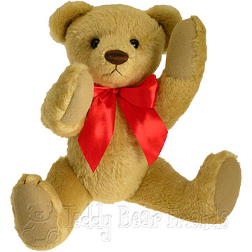 Clemens Spieltiere Old Fashioned Teddy Bear with Growler