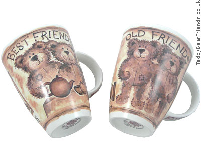 Roy Kirkham Old Friends Teddy Bear Mugs