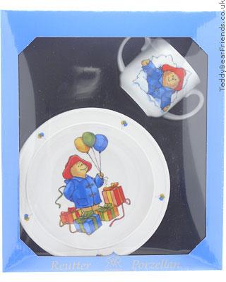 Reutter Porcelain Paddington Bear Baby Set