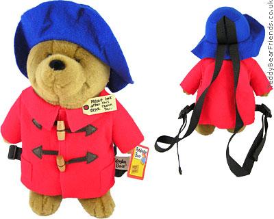 Augusta Du Bay Paddington Bear Backpack Red