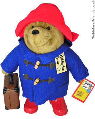 Augusta Du Bay Paddington Bear Bag Blue Coat