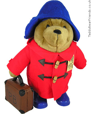 Augusta Du Bay Paddington Bear Bag Red Coat