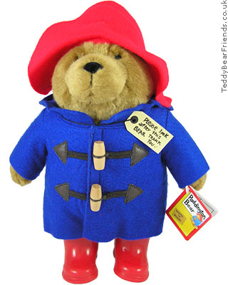 Augusta Du Bay Paddington Bear Red Boots