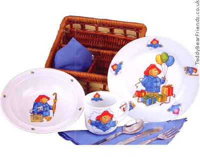 Reutter Porcelain Paddington Bear Breakfast Set