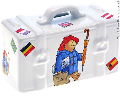 Reutter Porcelain Paddington Bear Money Box