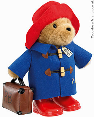 Rainbow Designs Paddington Bear With Boots And Case