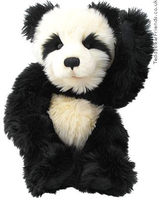 Charlie Bears Panda Bear Puppet