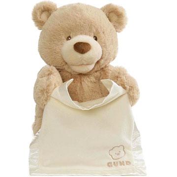 Baby Gund Peek A Boo Teddy Bear
