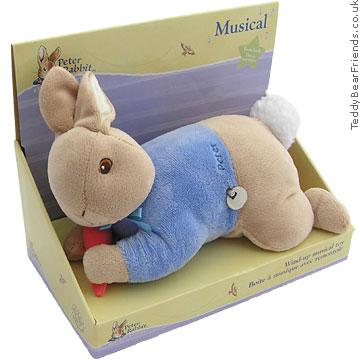 Augusta Du Bay Peter Rabbit Baby Motion Musical